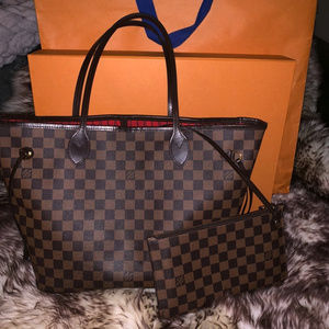 LV NEVERFULL MM 100% AUTHENTIC